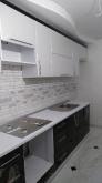 Кухня МДФ: Білий Глянець + Чорний Глянець