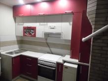Кухня МДФ: Софт Шардоне + Софт Латте