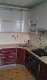 Кухня МДФ: Бордо глянець + Рожевий глянець