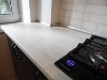 Кухня МДФ: Венге + Білий Супер Мат
