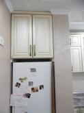 Кухня МДФ: Ясен Жемчуг + Патина Золото