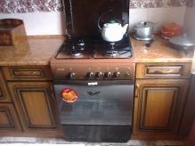 Кухня МДФ: Вишня форема патинована з косічкою