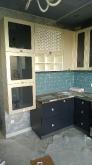 Кухня МДФ: Графіт + Платина Шагрень Малюнок Екран