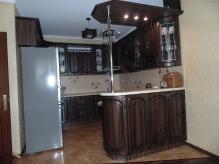 Кухня МДФ: Горіх Пасифік (патина) + патина чона (Фреза №11)