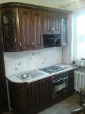 Кухня МДФ: Кедер люкс + косічка + патина чорна