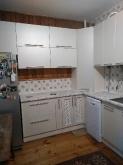 Кухня МДФ: Білий Супер Мат + Ваніль Супер Мат