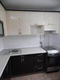 Кухня МДФ: Слонова кость (Весь Декор) + Мокко Глянець 3k5G-1
