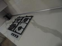 Кухня МДФ: Акрил Люкс Форм Metalic ME805U Платинум + Metalic ME-001U Біла Перлина