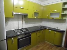 Кухня МДФ: Фарбований фасад RAL 1027 Curry (матовий)