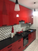 Кухня AGT (АГТ): AGT 3120 Червоний (глянець)